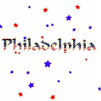 Estrellas de Philadelphia Adorno Fotoescultura