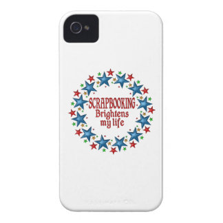 Estrellas de Scrapbooking Case-Mate iPhone 4 Cárcasas