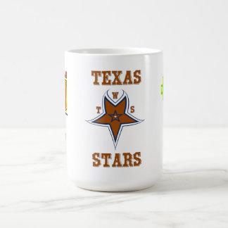 Estrellas de Tejas de Wallie 2012 tazas