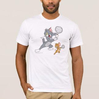 Estrellas de tenis de Tom y Jerry 1 Playera