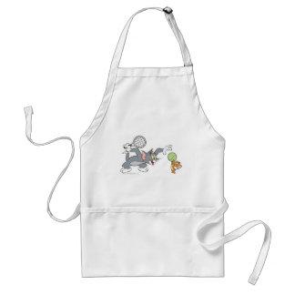 Estrellas de tenis de Tom y Jerry 2 Delantal