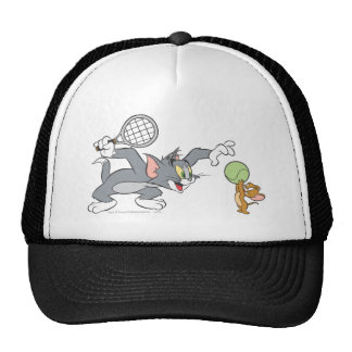 Estrellas de tenis de Tom y Jerry 2 Gorras De Camionero