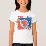 Estrellas de tenis de Tom y Jerry 4 Playera