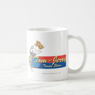 Estrellas de tenis de Tom y Jerry 6 Taza Clásica
