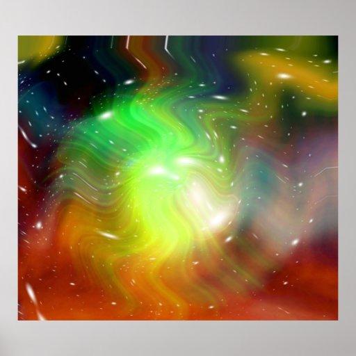 Estrellas de un planeta y de una galaxia 2 poster