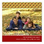 Estrellas de Yuletide:: La tarjeta de la foto del Invitación 13,3 Cm X 13,3cm