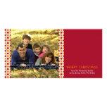 Estrellas de Yuletide:: Navidad Photocard Tarjetas Fotograficas Personalizadas