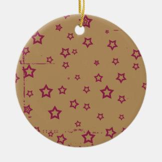 estrellas adorno de navidad