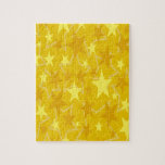 Estrellas del amarillo rompecabeza
