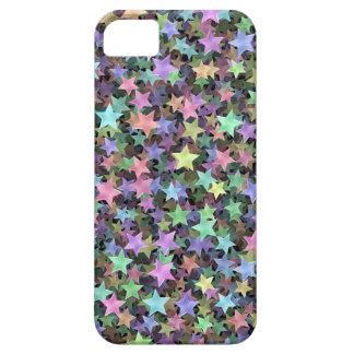 Estrellas del arco iris iPhone 5 protector