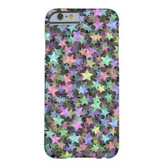 Estrellas del arco iris funda de iPhone 6 barely there