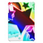 Estrellas del arco iris iPad mini carcasas