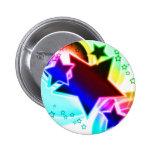 Estrellas del arco iris pins