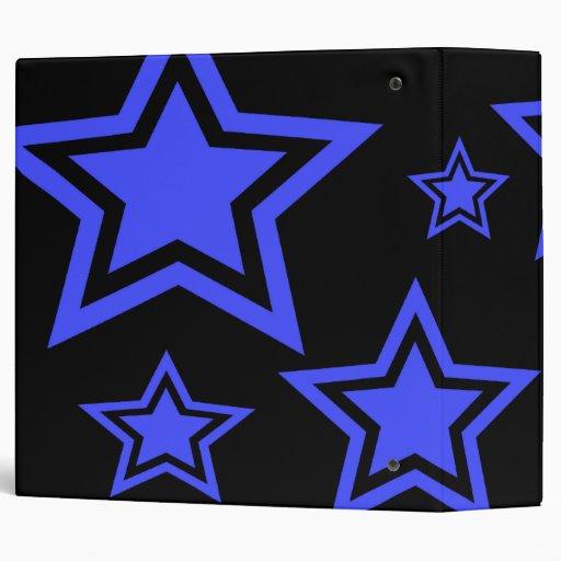 """Estrellas del azul y del negro 2"""" carpeta"""