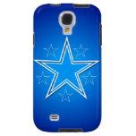 Estrellas del blanco en azul