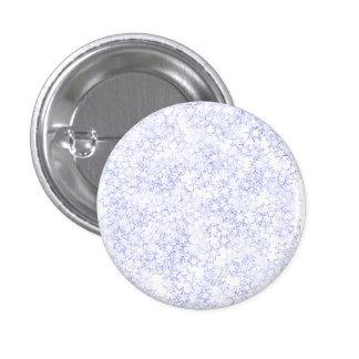 Estrellas del blanco y espíritu de equipo azul de  pin