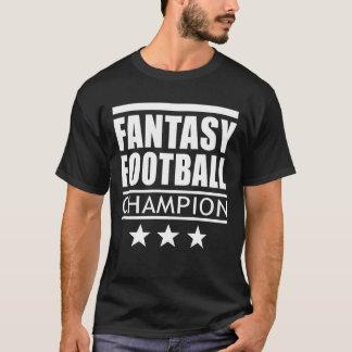 Estrellas del campeón del fútbol de la fantasía playera