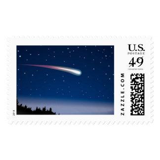 Estrellas del cometa de la estrella fugaz del sellos