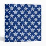 Estrellas del deslumbramiento en azul
