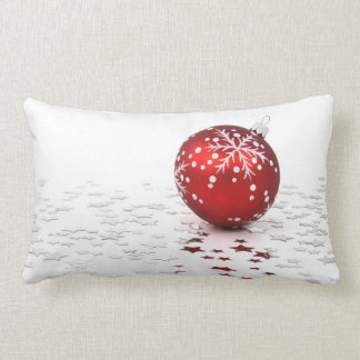 Estrellas del día de fiesta del navidad almohada