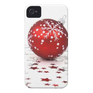 Estrellas del día de fiesta del navidad iPhone 4 fundas
