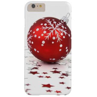 Estrellas del día de fiesta del navidad funda de iPhone 6 plus barely there