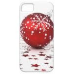 Estrellas del día de fiesta del navidad iPhone 5 protectores