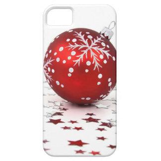 Estrellas del día de fiesta del navidad iPhone 5 Case-Mate funda