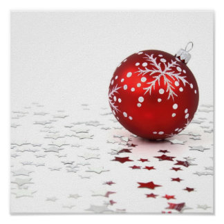 Estrellas del día de fiesta del navidad poster