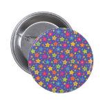 Estrellas del disco pin