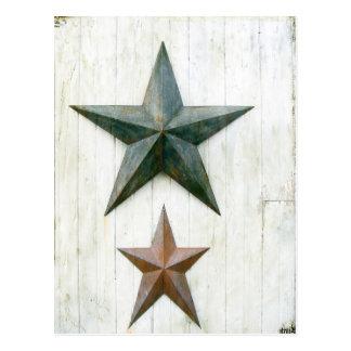 Estrellas del granero tarjeta postal