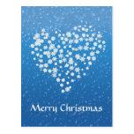 Estrellas del navidad - postal