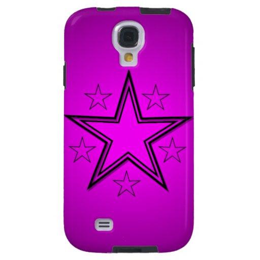 Estrellas del negro en rosa