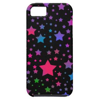 Estrellas del neón funda para iPhone 5 tough