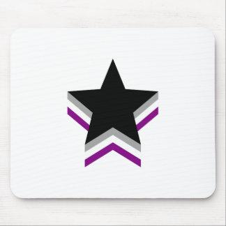 Estrellas del orgullo del Asexuality Alfombrilla De Ratón