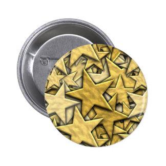 Estrellas del oro pins