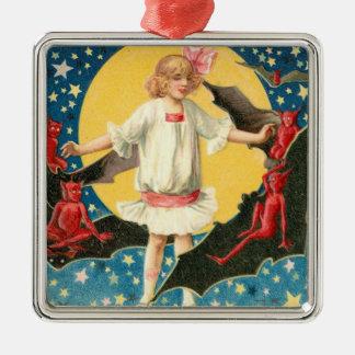 Estrellas del palo del demonio de la Luna Llena de Adorno De Reyes