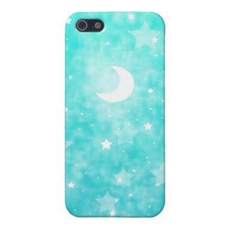 Estrellas del papel y arte celestial de la fantasí iPhone 5 carcasa