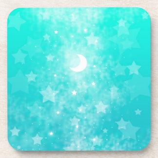 Estrellas del papel y arte celestial de la fantasí posavaso