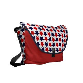 Estrellas del patriota bolsas de mensajería