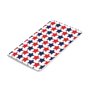 Estrellas del patriota cuadernos grapados