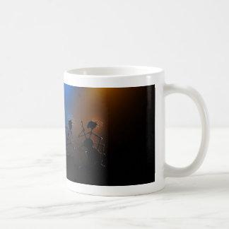 Estrellas del rock taza de café