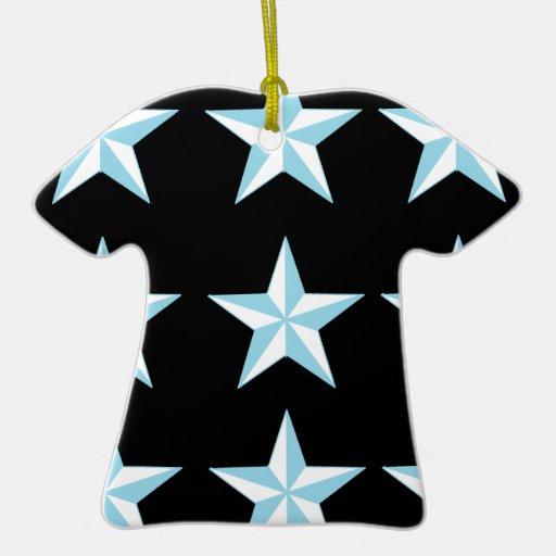 Estrellas del trullo y del negro ornatos