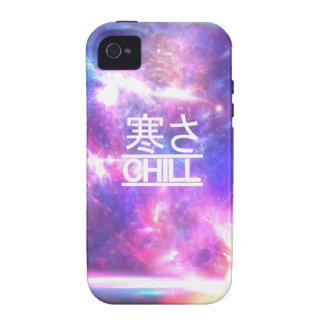 Estrellas desapasibles de la nebulosa de la galaxi vibe iPhone 4 fundas