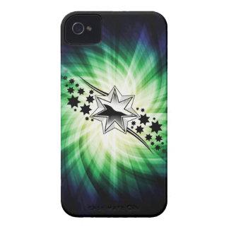 Estrellas; Diseño estrellado iPhone 4 Case-Mate Carcasa