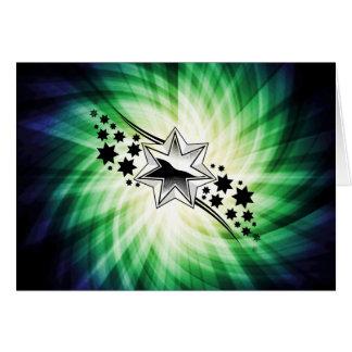 Estrellas; Diseño estrellado Tarjeton