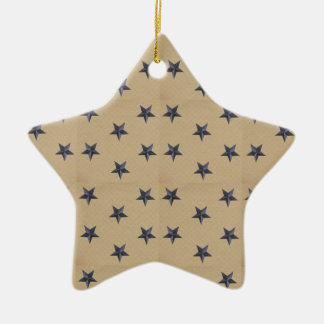 Estrellas dulces de la marina de guerra de la ornaments para arbol de navidad
