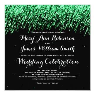 """Estrellas el caer elegantes del boda """"verde"""