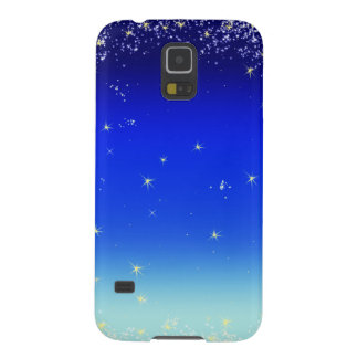 estrellas en azul funda para galaxy s5