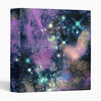 Estrellas en colores pastel de la galaxia